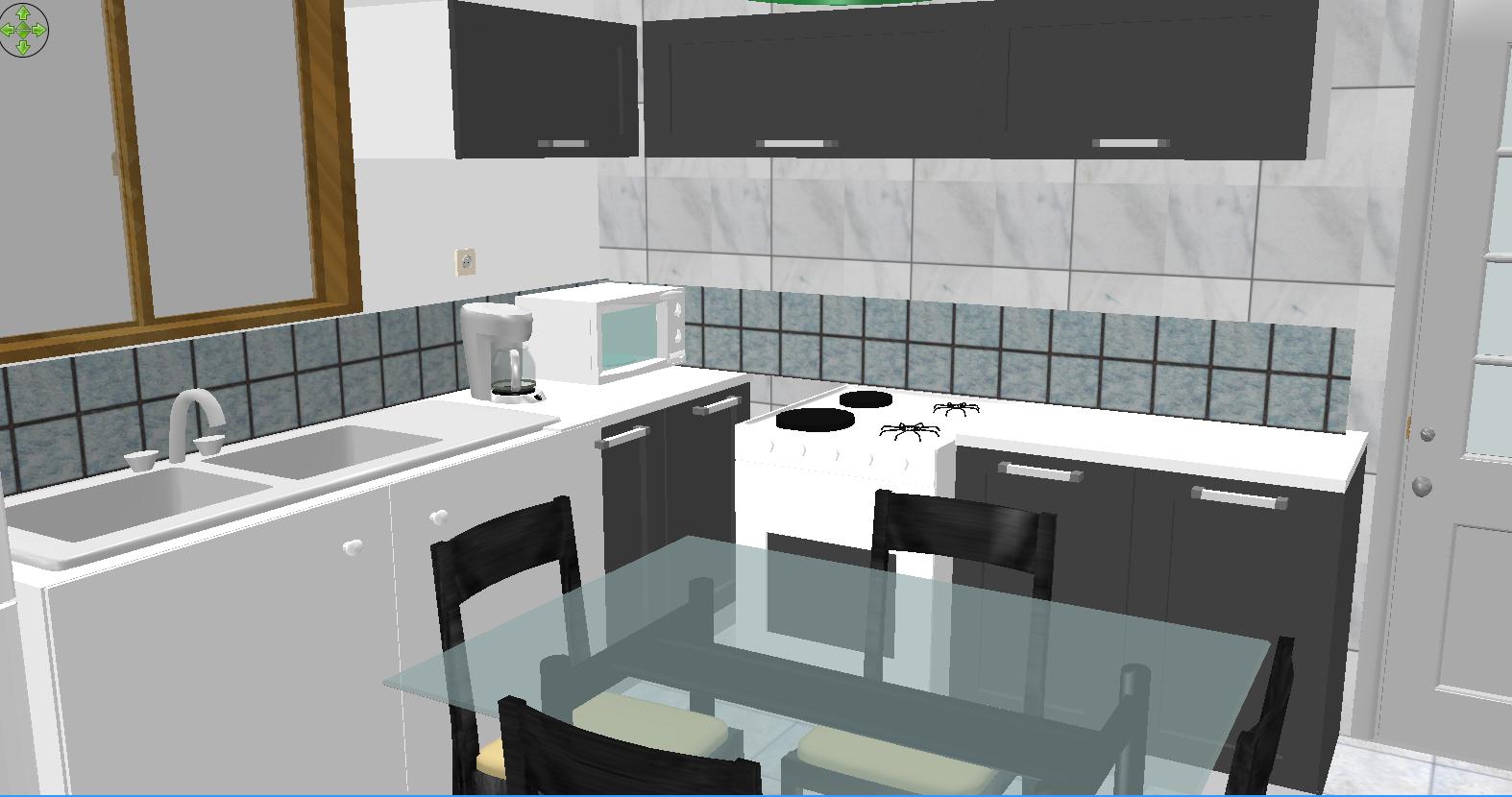Projeto de casa com 2 dormitórios sala ampla área de serviço e  #654920 1574 830