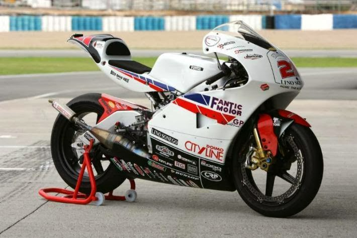 Reparto Corse N 6 2 Stroke Fantic Motor 250 Gp Framed By Suter And Created By Franco Moro 2005