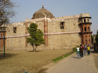 The Purana Quila or the old fort