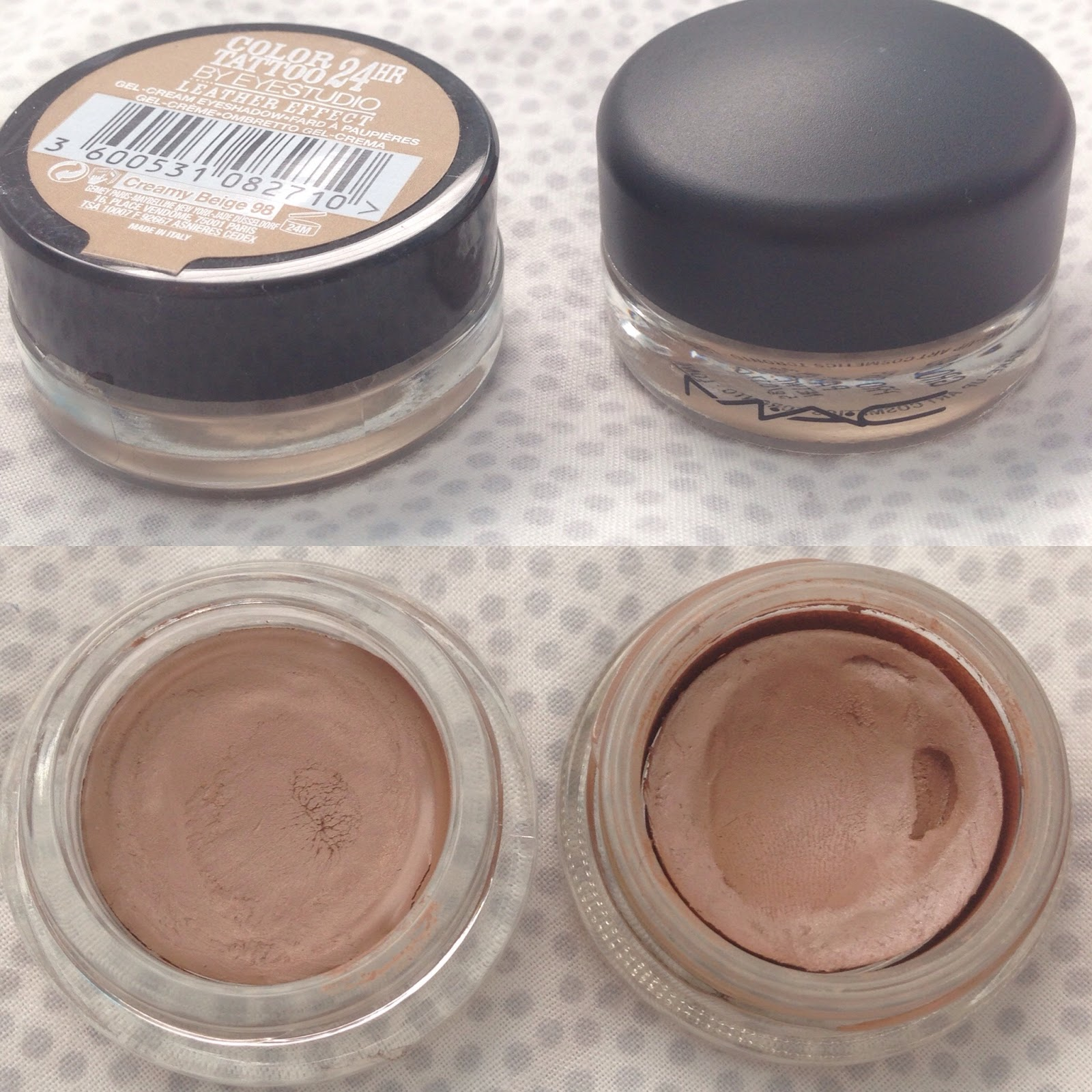 Beauty the mac paint pot dupe dollheartmakeup for Mac paint pot groundwork