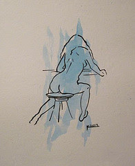 Nude Pianist (Sold)