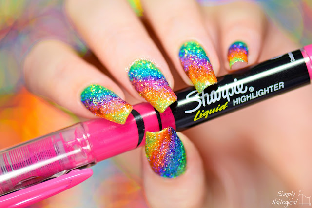 Another Technique Nail Artist S Use To Get All The Holographic Glitter On Their Nails Is Sponging Polish Onto