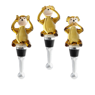 monkey wine stoppers
