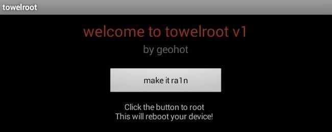 GeoHot lanza, una aplicación para hacer root al Galaxy S5 y cualquier otro Android