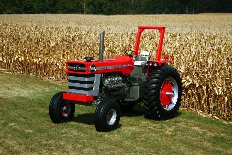 All about tractors retro mondays massey ferguson 1150 for Garden machinery for sale