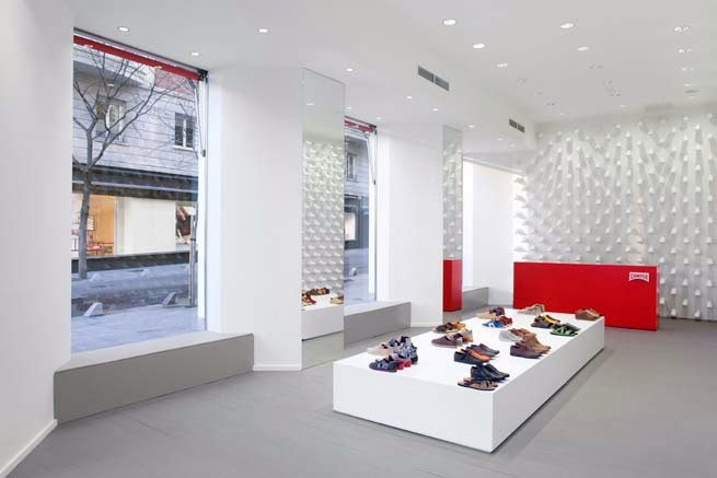 Tienda Camper Together, Madrid, Nendo, Oki Sato