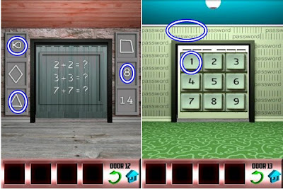 Best game app walkthrough 100 doors walkthrough level 12 13 for Door 4 level 21