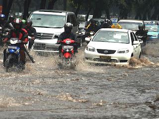 Penyebab Terjadinya Banjir di Jakarta