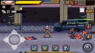 Screenshots of the Street king fighter for Android tablet, phone.