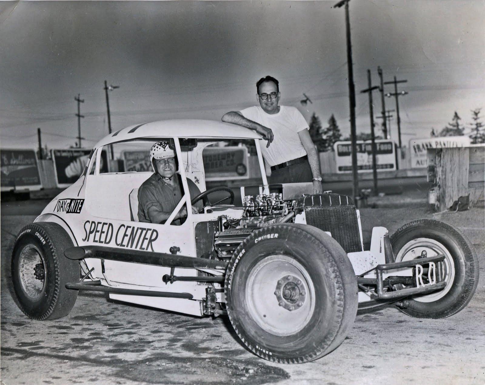 Northwest Auto Racing, 1950s: Aurora Speedway, Seattle