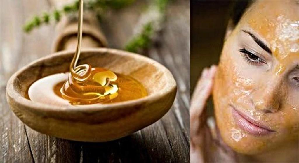 Маска только из меда для лица в домашних условиях