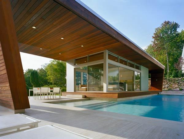 Dise o de interiores arquitectura hermosa casa piscina for Cubiertas minimalistas