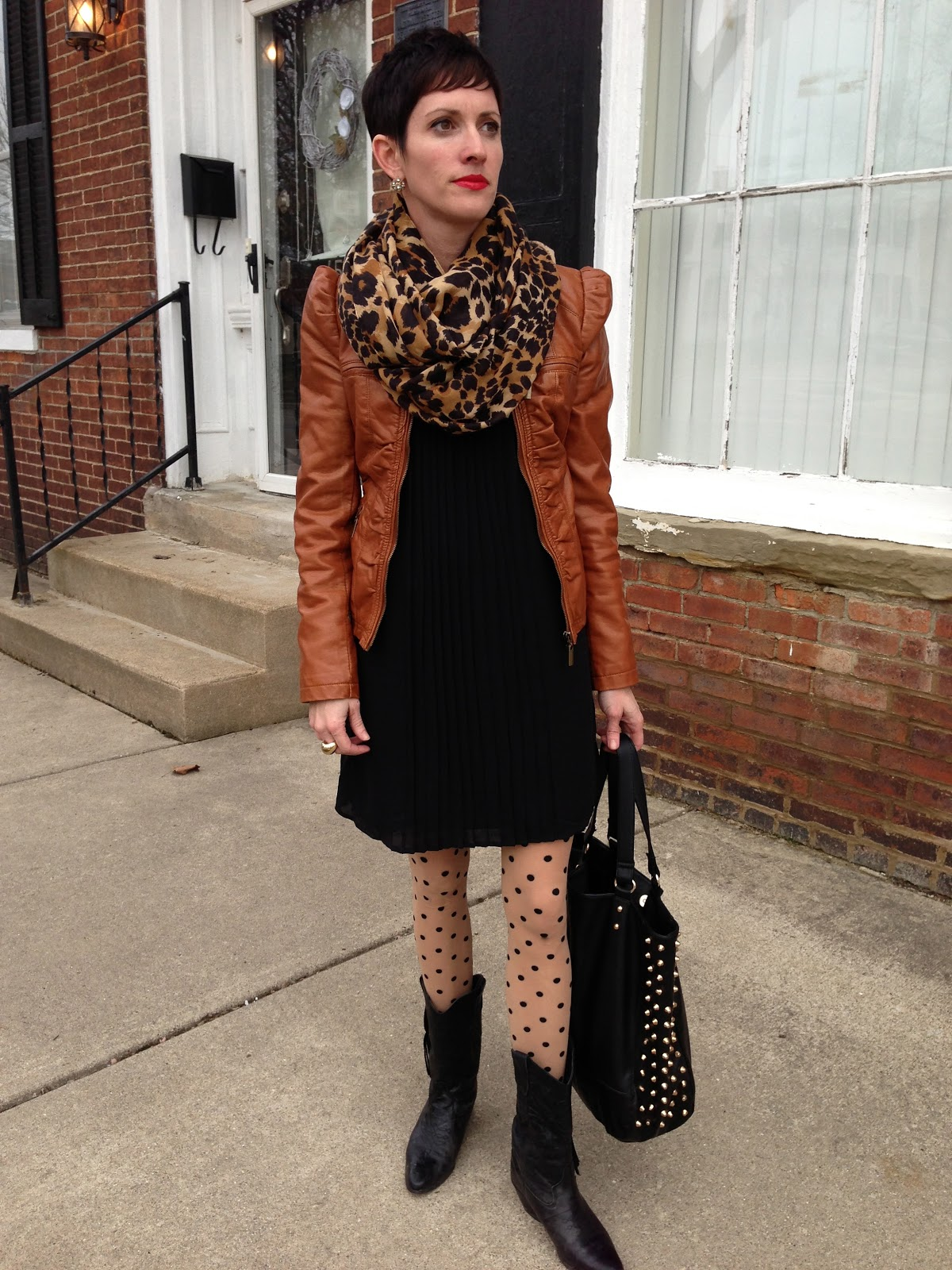 H&m Leopard Infinity Scarf