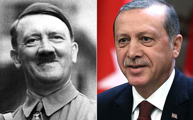 Recep Tayyip Erdogan quer os mesmos poderes de Hitler