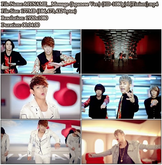 Download PV MYNAME - Message (Japanese Version) (Full HD 1080p)
