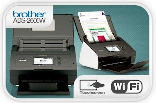 Brother ADS-2600W document Wi-Fi Scanner