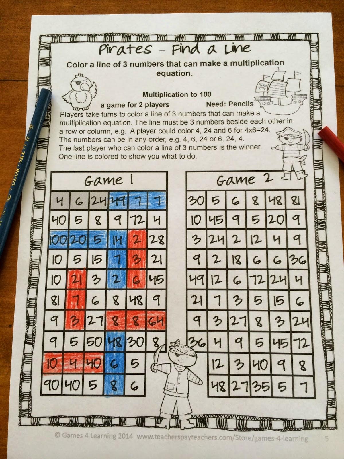 http://www.teacherspayteachers.com/Product/Multiplication-1199527