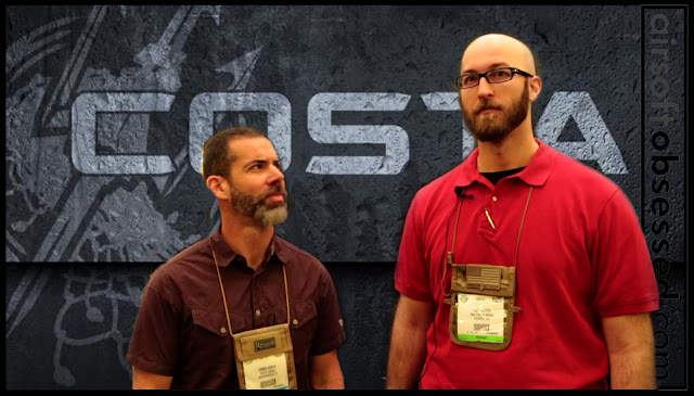 Chris Costa, Costa Ludus, magpul dynamics, Shot show 2013, Airsoft Obsessed, Tom Harris Media, Tominator,