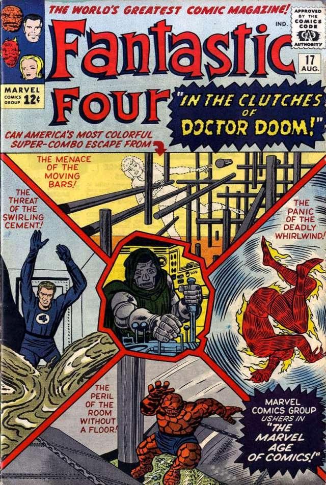 Los Cuatro Fantásticos # 17