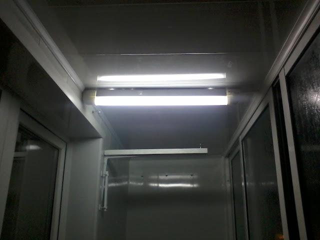 Сделать свет на балконе