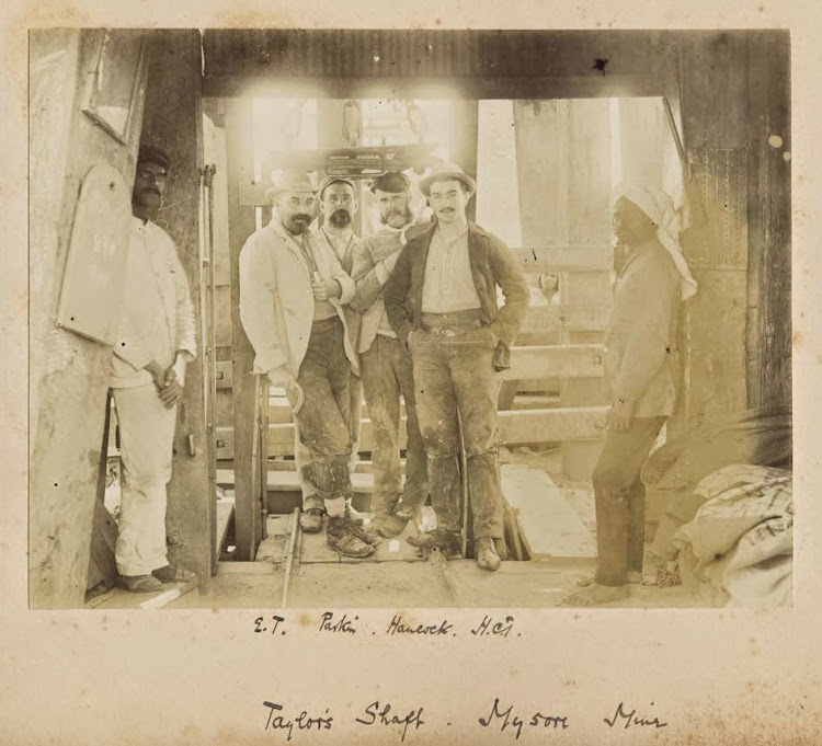 Taylor's shaft - Mysore Mine, Karnataka 1890's