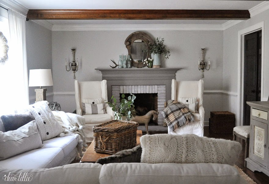 dear lillie january family room. Black Bedroom Furniture Sets. Home Design Ideas