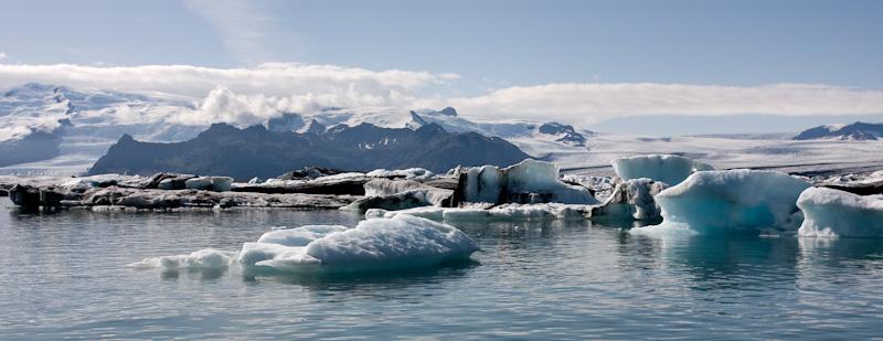 Jokulsarlon glacier lagoon iceberg iceland ice