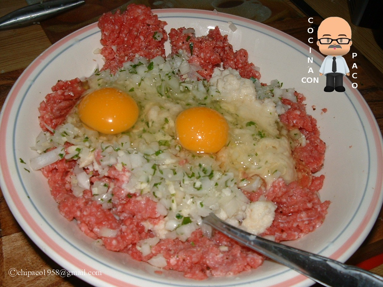 Cocina con paco alb ndigas en salsa - Cocina con paco ...