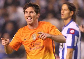 Messi hizo un Hat Trick