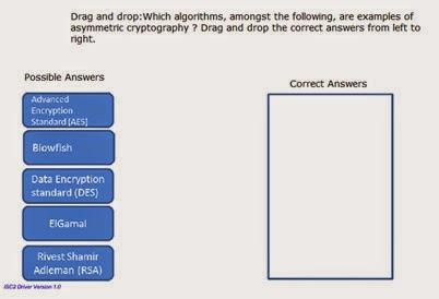 Ejemplo de preguntas de examen CISSP