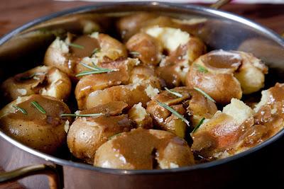 paahdetut perunat
