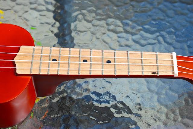 Harley Benton HBUK-11NT ukulele neck