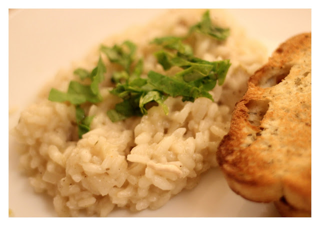 Communicating & Cooking: Lemon Chicken Risotto