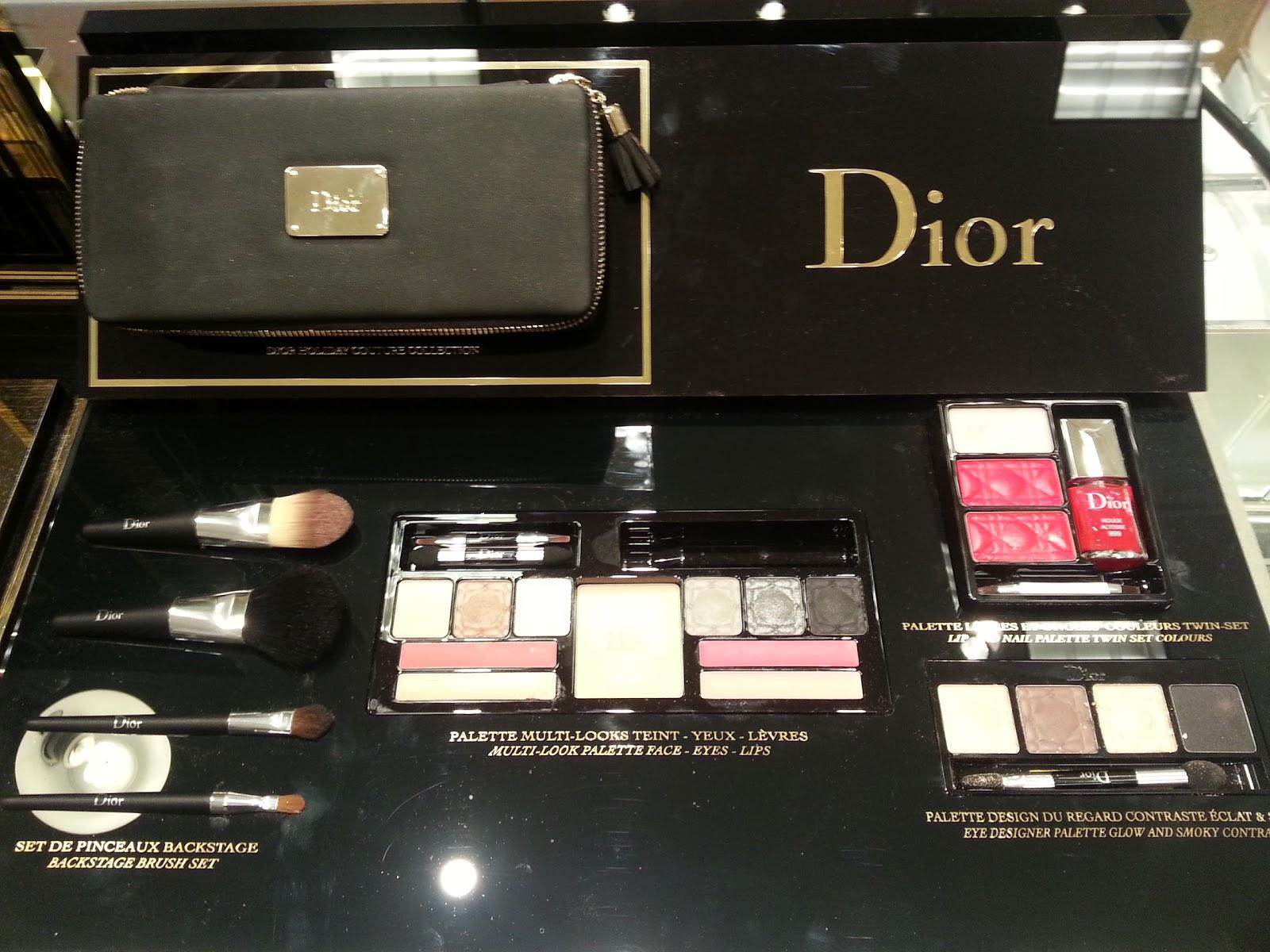 Lipstick & Chiffon : Holiday Sets from Dior