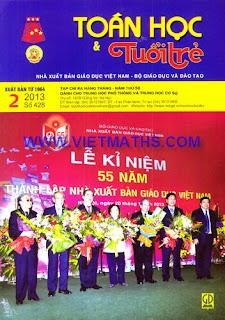 bao  Toan hoc Tuoi Tre so 428 thang 2 nam 2013