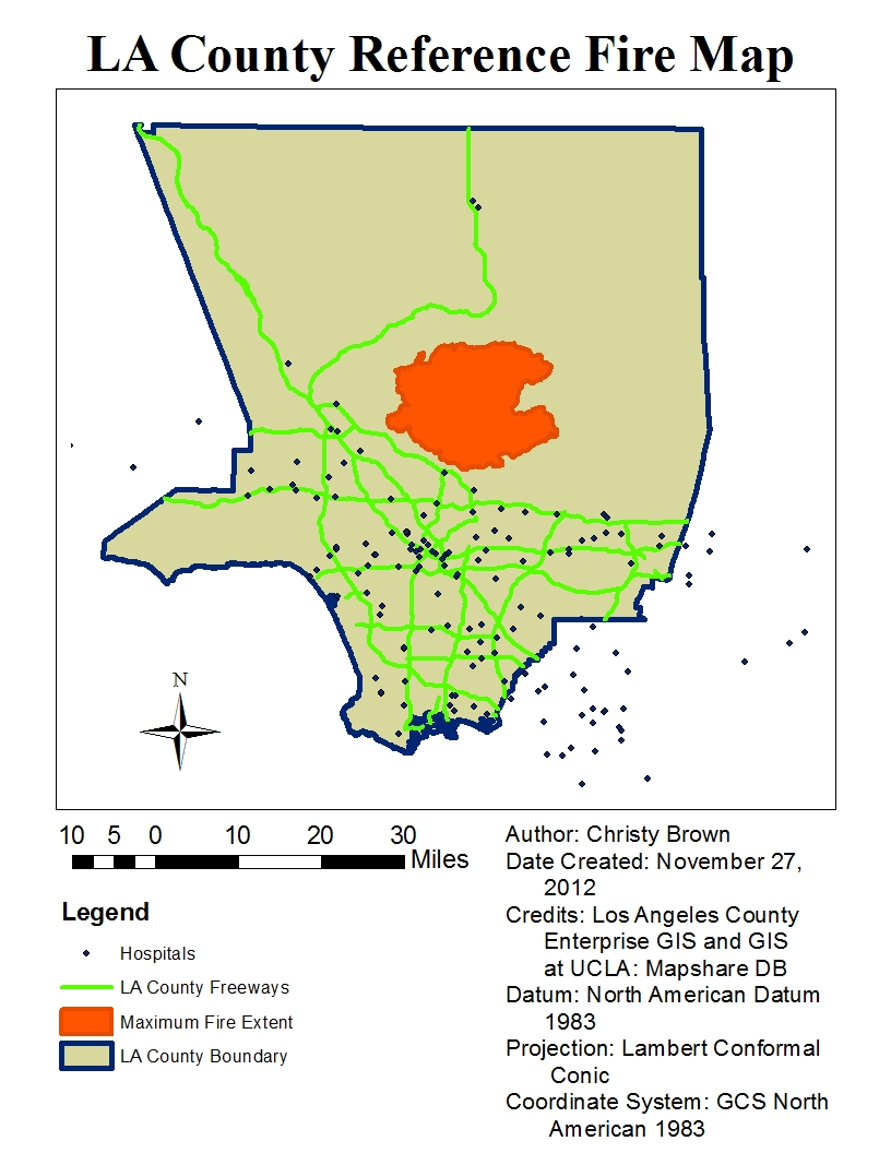 the maps above show the fire extent of the 2009 los angeles county fires each of the maps includes the fire extent of the 2009 la county fires which