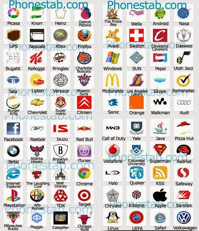 logos gallery picture logo quiz answers