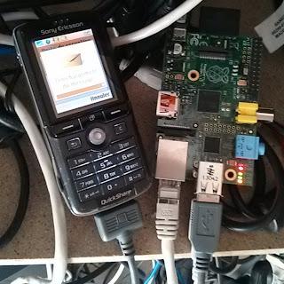 K750i and Raspberry (credit Mathieu Lallemand)