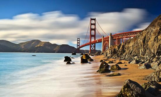 Top 25 destinations in the world: San Francisco, California, USA