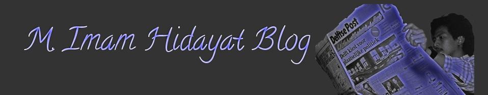 M. Imam Hidayat Blog