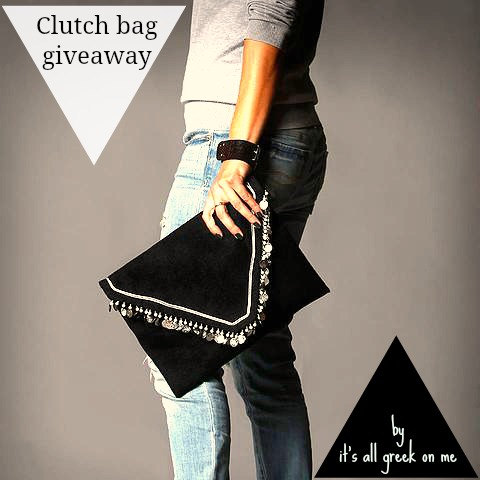 clutch bag giveaway