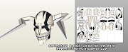 D/L #papercraft Bleach Hollow Ichigo mask (+lots more!):