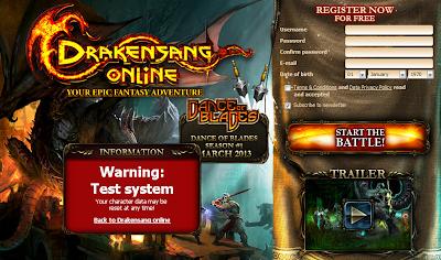 Drakensang Online Testserver