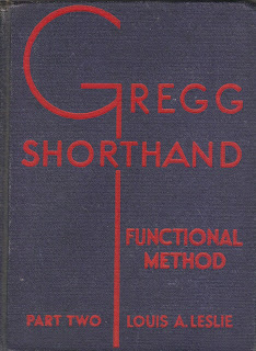 Gregg Shorthand book