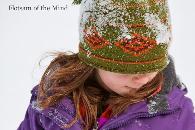 Snowy Child - Flotsam of the Mind