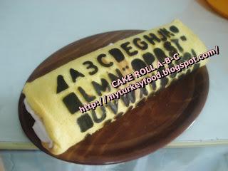 CAKE ROLL A-B-C