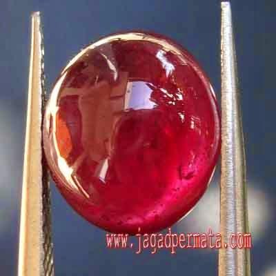 Batu Mulia Ruby Pigeon Blood