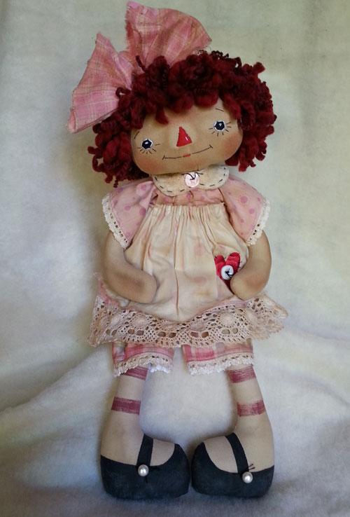 Pink Polka Dots Annie #5