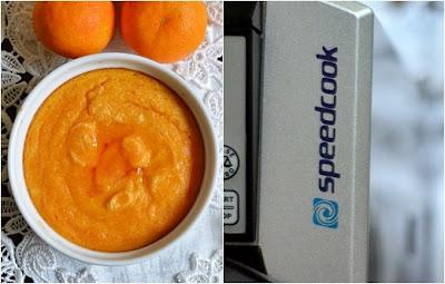 dyniowa legumina i syrop mandarynkowy speedcook