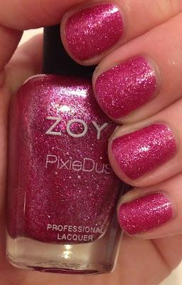 Zoya, Zoya Fall 2013 PixieDust Collection, Zoya nail polish, textured nail polish, matte nail polish, glitter nail polish, Zoya Arabella